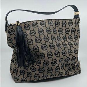 MICHAEL KORS Bedford Monogram Classic Shoulder Bag